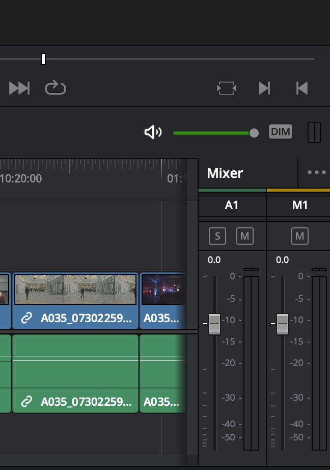 Der Audio-Mixer